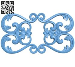 Pattern decor design A005302 download free stl files 3d model for CNC wood carving