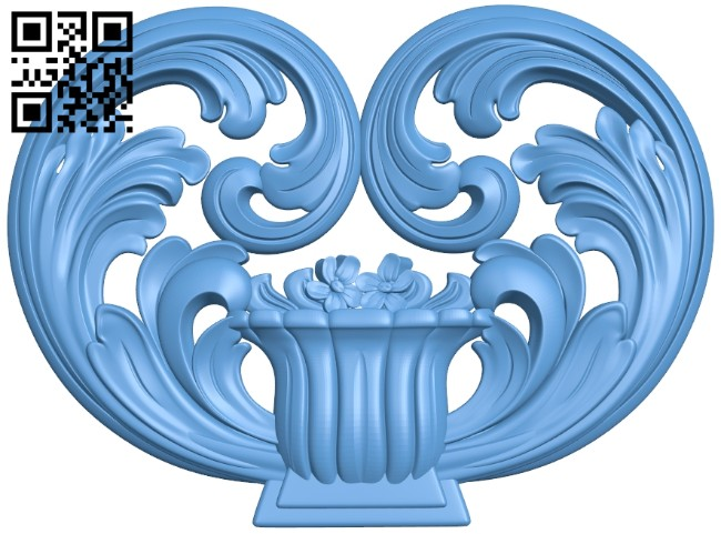 Pattern decor design A005305 download free stl files 3d model for CNC wood carving