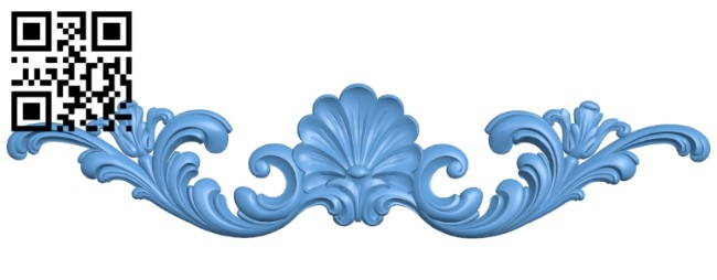 Pattern decor design A005323 download free stl files 3d model for CNC wood carving
