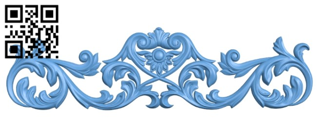 Pattern decor design A005324 download free stl files 3d model for CNC wood carving