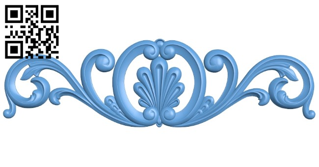 Pattern decor design A005326 download free stl files 3d model for CNC wood carving