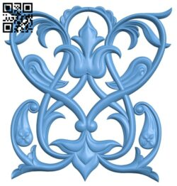 Pattern decor design A005327 download free stl files 3d model for CNC wood carving