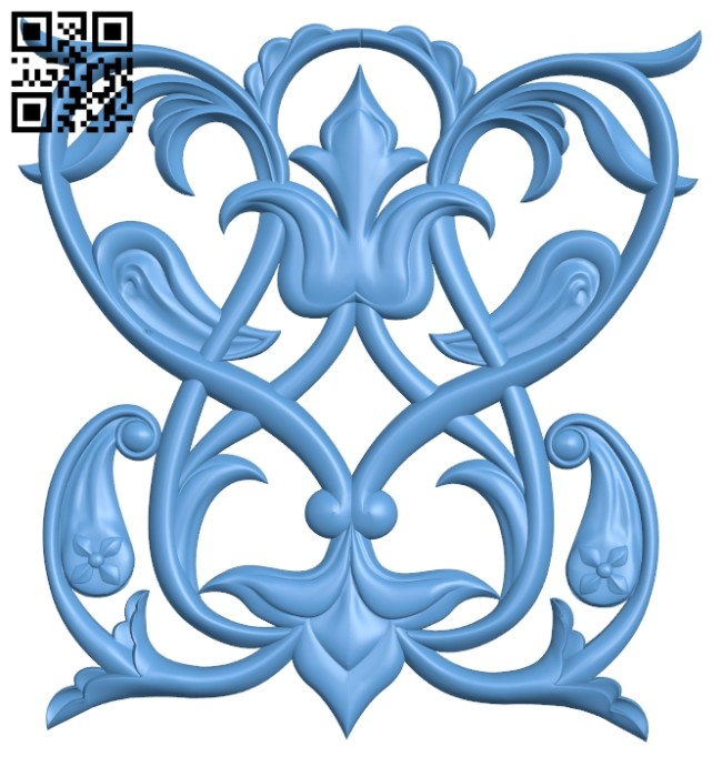 Pattern decor design A005327 download free stl files 3d model for CNC wood carving