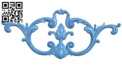 Pattern decor design A005341 download free stl files 3d model for CNC wood carving