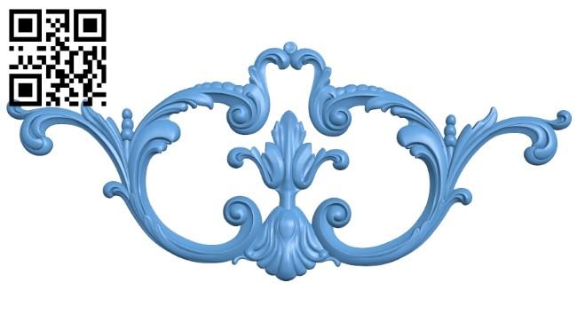 Pattern decor design A005341 download free stl files 3d model for CNC wood carving