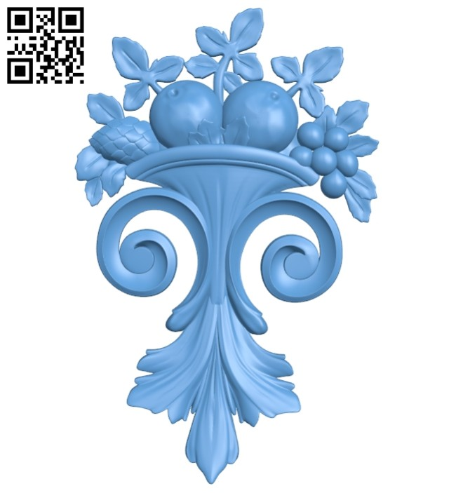 Pattern decor design A005350 download free stl files 3d model for CNC wood carving