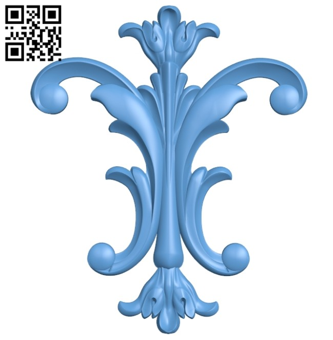 Pattern decor design A005375 download free stl files 3d model for CNC wood carving