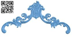 Pattern decor design A005389 download free stl files 3d model for CNC wood carving