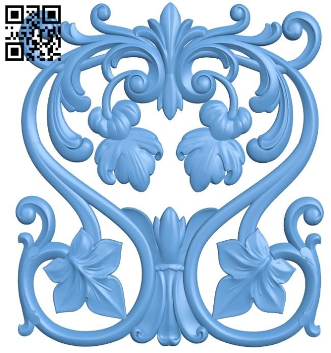 Pattern decor design A005390 download free stl files 3d model for CNC wood carving