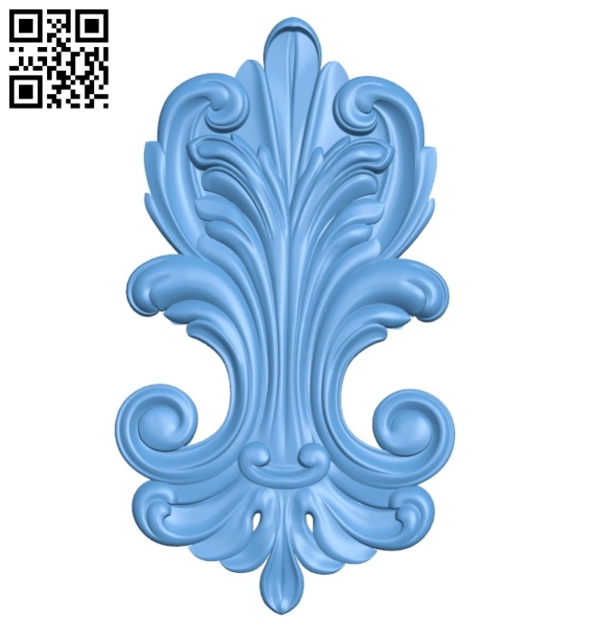 Pattern decor design A005392 download free stl files 3d model for CNC wood carving
