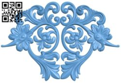 Pattern decor design A005394 download free stl files 3d model for CNC wood carving
