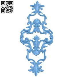 Pattern decor design A005411 download free stl files 3d model for CNC wood carving