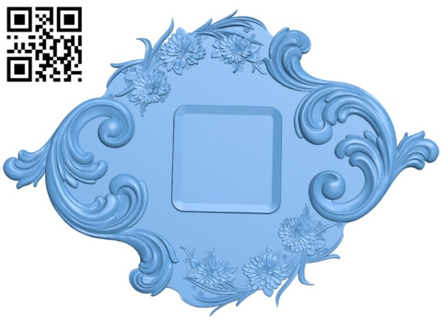 Pattern decor design A005414 download free stl files 3d model for CNC wood carving