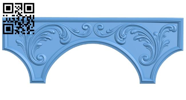 Pattern decor design A005415 download free stl files 3d model for CNC wood carving