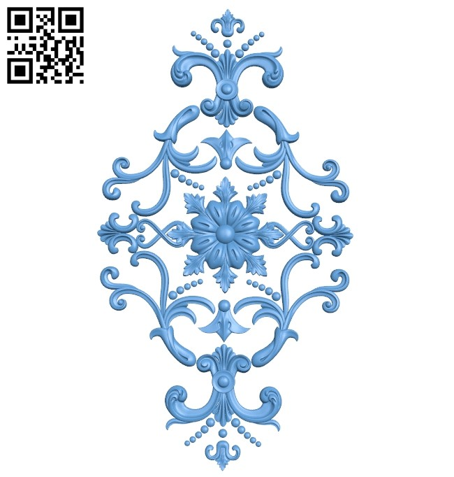 Pattern decor design A005416 download free stl files 3d model for CNC wood carving