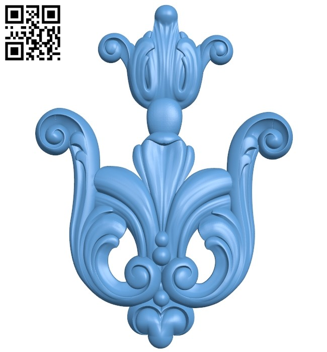 Pattern decor design A005417 download free stl files 3d model for CNC wood carving