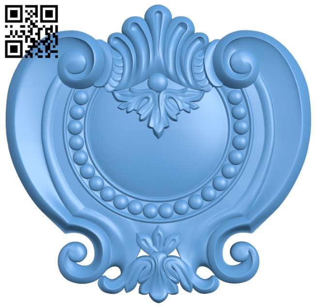 Pattern decor design A005418 download free stl files 3d model for CNC wood carving