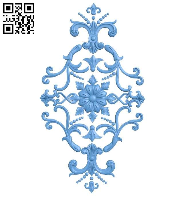 Pattern decor design A005430 download free stl files 3d model for CNC wood carving