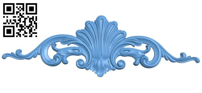 Pattern decor design A005431 download free stl files 3d model for CNC wood carving