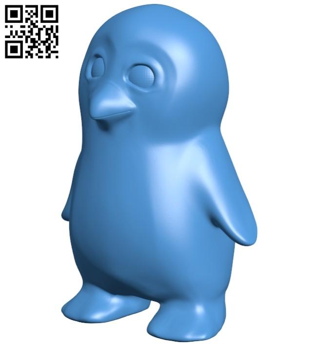 Penguin B008072 file stl free download 3D Model for CNC and 3d printer