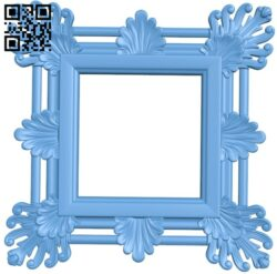 Picture frame or mirror A005300 download free stl files 3d model for CNC wood carving