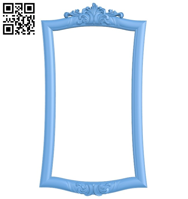 Picture frame or mirror A005301 download free stl files 3d model for CNC wood carving