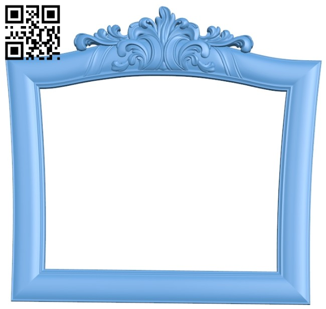 Picture frame or mirror A005303 download free stl files 3d model for CNC wood carving