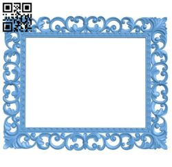 Picture frame or mirror A005354 download free stl files 3d model for CNC wood carving