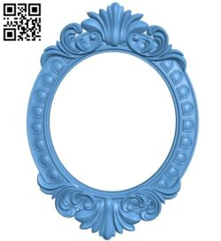 Picture frame or mirror A005355 download free stl files 3d model for CNC wood carving