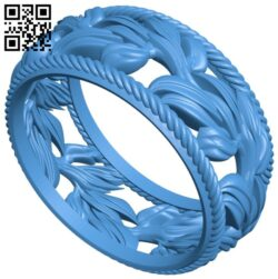 Pierscionek ring B008082 file stl free download 3D Model for CNC and 3d printer