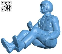 Pilots fly the plane B008289 file stl free download 3D Model for CNC and 3d printer