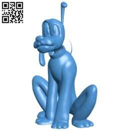 Pluto dog B008046 file stl free download 3D Model for CNC and 3d printer
