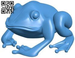 Rospo – frog B008050 file stl free download 3D Model for CNC and 3d printer