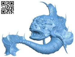 Sea bull B008232 file stl free download 3D Model for CNC and 3d printer