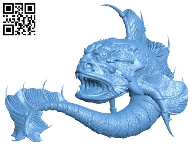 Sea bull B008232 file stl free download 3D Model for CNC and 3d printer
