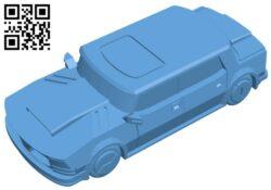 Sedan car B008267 file stl free download 3D Model for CNC and 3d printer