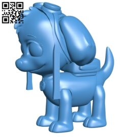 Skye dog B008096 file stl free download 3D Model for CNC and 3d printer