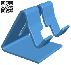 Smartphone stand B008062 file stl free download 3D Model for CNC and 3d printer