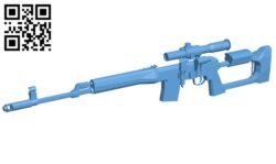 Sniper rifles tigr-9 – gun B008179 file stl free download 3D Model for CNC and 3d printer