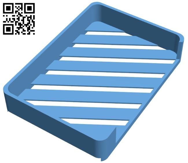 Soap holder B008140 file stl free download 3D Model for CNC and 3d printer