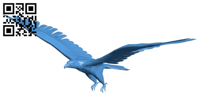 Soaring eagle B008121 file stl free download 3D Model for CNC and 3d printer