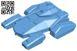 Space tank B008217 file stl free download 3D Model for CNC and 3d printer