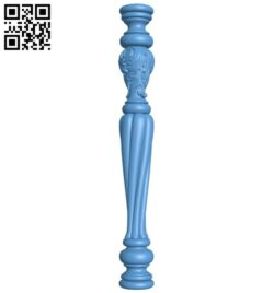 Table legs and chairs A005381 download free stl files 3d model for CNC wood carving