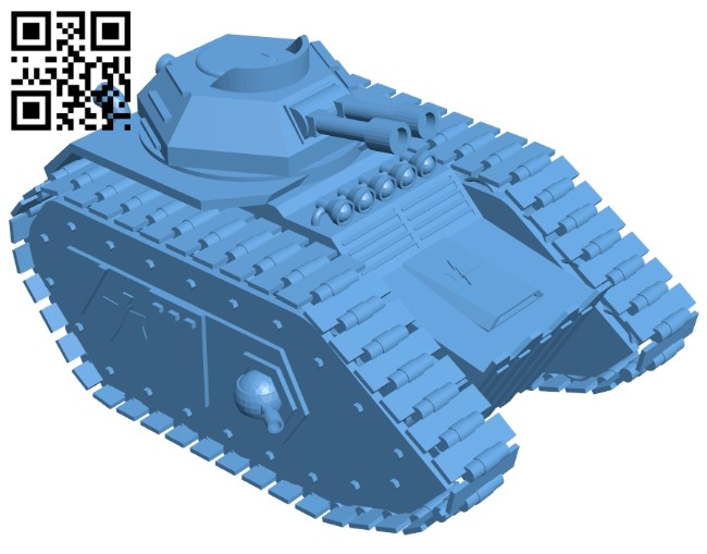 Tank B008202 file stl free download 3D Model for CNC and 3d printer