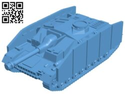 Tank B008213 file stl free download 3D Model for CNC and 3d printer