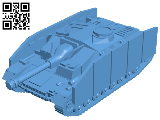 Tank B008213 file stl free download 3D Model for CNC and 3d printer