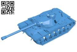 Tank T110E5 B008088 file stl free download 3D Model for CNC and 3d printer