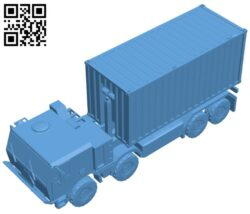 Tatra truck 815-7 B008265 file stl free download 3D Model for CNC and 3d printer