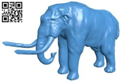 The mammoth – Elephant B008107 file stl free download 3D Model for CNC and 3d printer