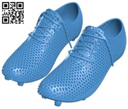 The shoe – Soccer boot B008115 file stl free download 3D Model for CNC and 3d printer